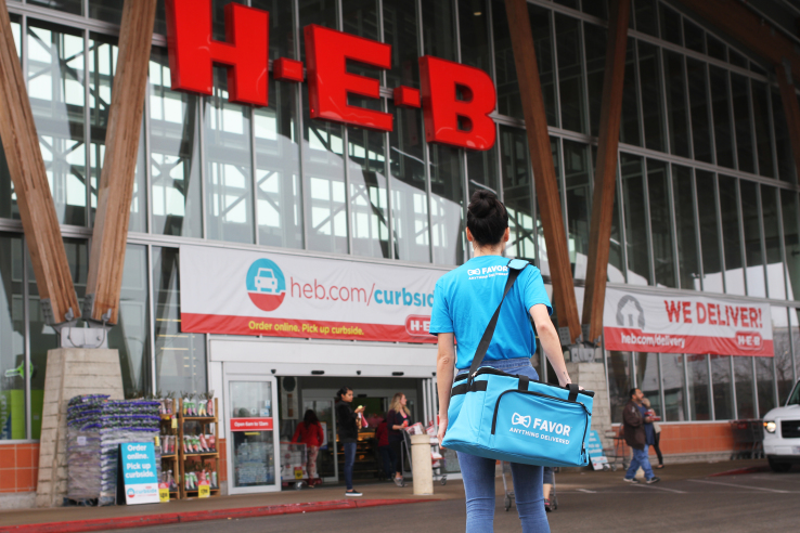 H-E-B acquires Texas-based on-demand company Favor