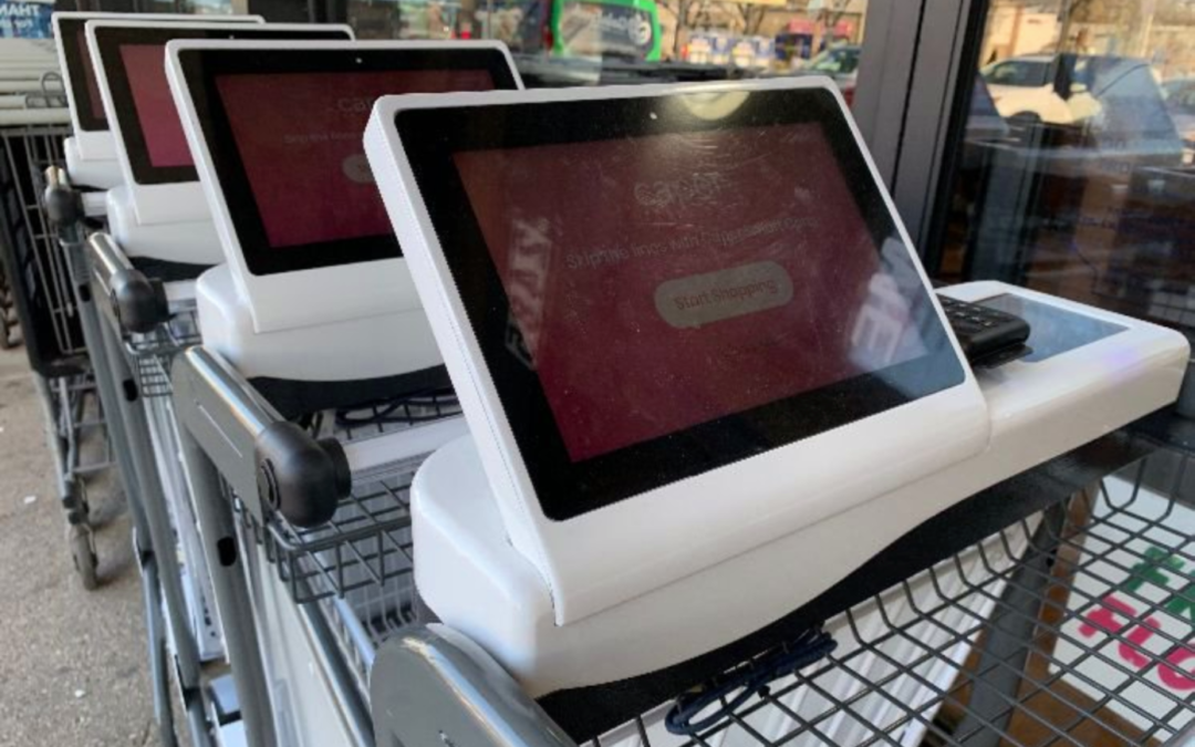 Smart grocery cart startup Caper bags $10 million