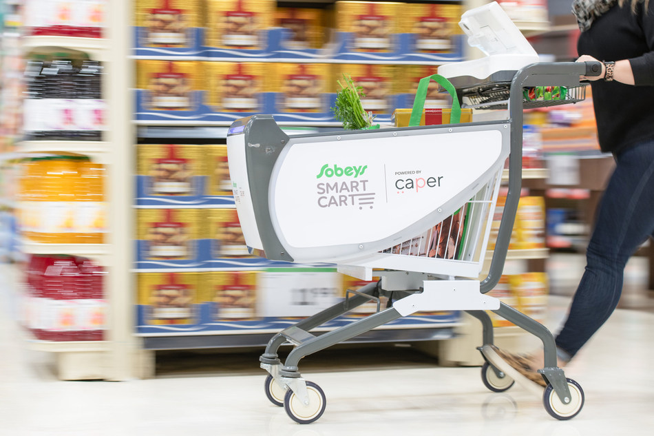 Caper Rolls Out Smart Shopping Carts With One Of North America's Largest Grocery Chains