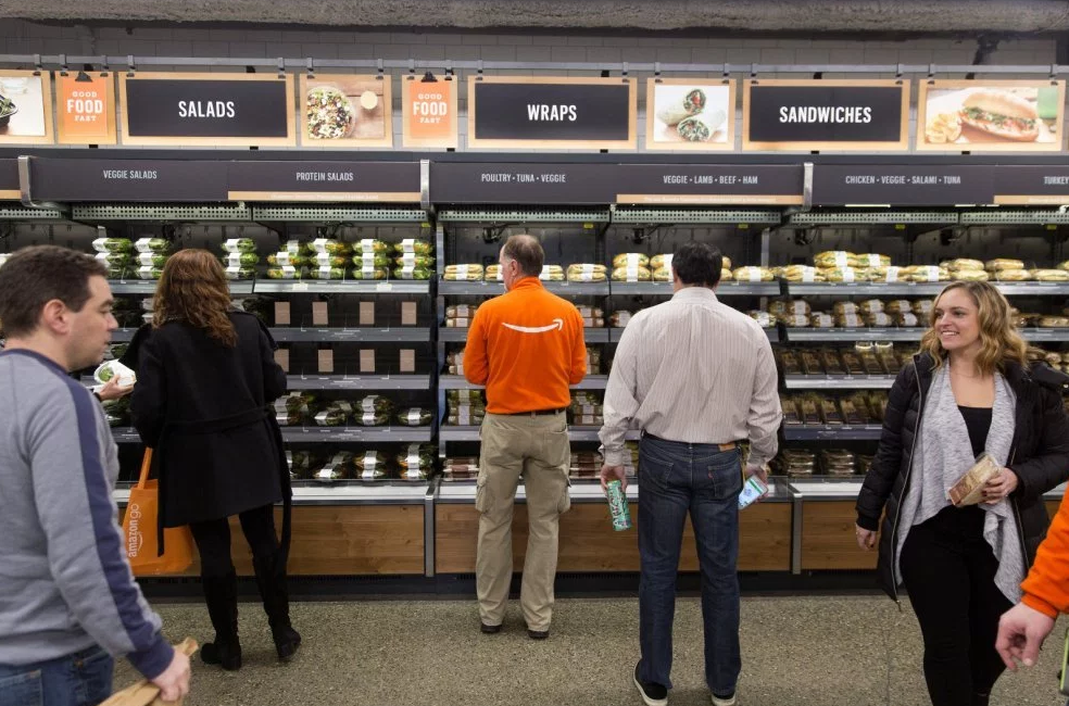 Chicago's First Amazon Go Store Opens