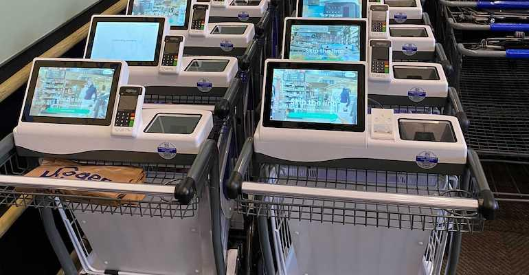 Kroger tests 'smart' shopping cart from Caper